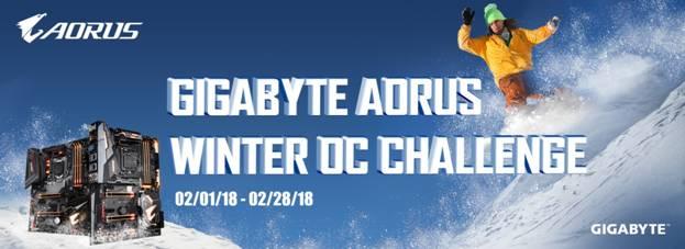 gigabyte aurous oc challenge