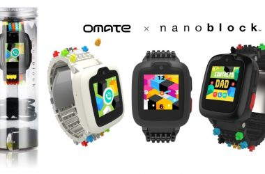 Move Into The Age of Digital Parenting With the Omate x Nanoblock Smartwatch for Children
