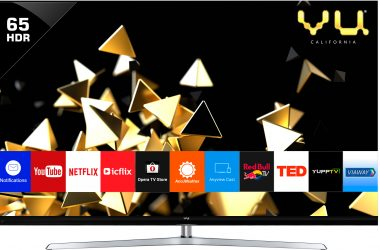Vu Televisions Introduces the Worlds Brightest LED TV – QUANTUM PIXELIGHT LED TV in 65 and 75 Inches