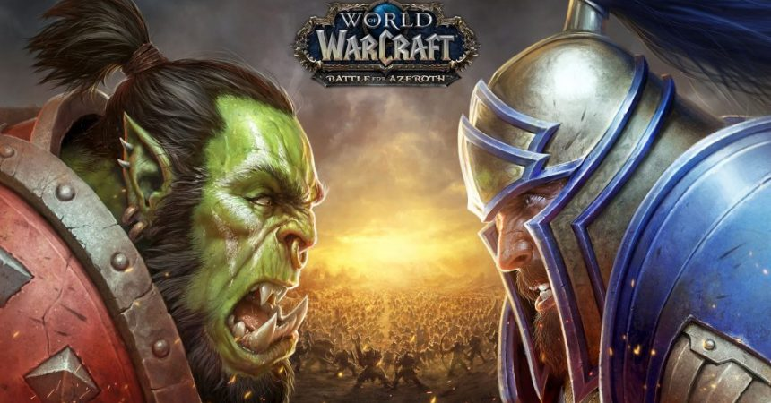 PREPARE TO JOIN THE BATTLE FOR AZEROTH™ – NEW WORLD OF WARCRAFT® EXPANSION ARRIVES AUGUST 14