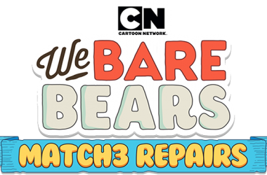 Cartoon Network And Sundaytoz Release We Bare Bears Match3 Repairs Worldwide On iOS And Android Smartphones And Tablets