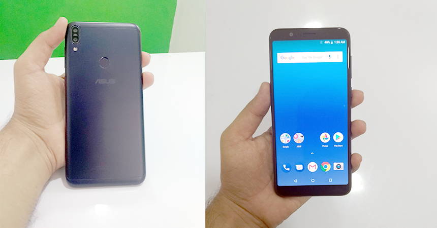 zenfone front and back