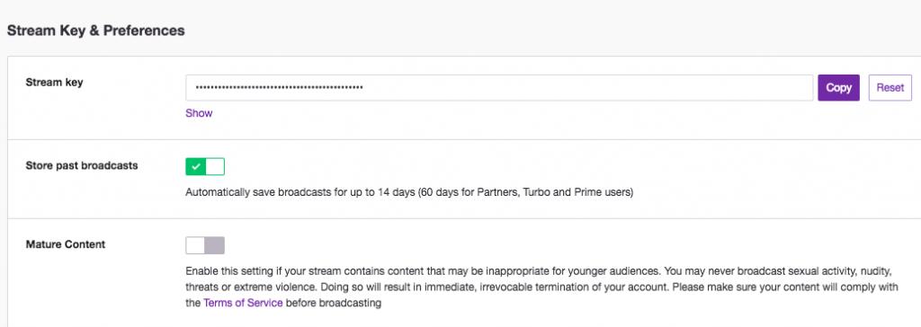 Live Streaming PUBG on Twitch - Get Stream Key