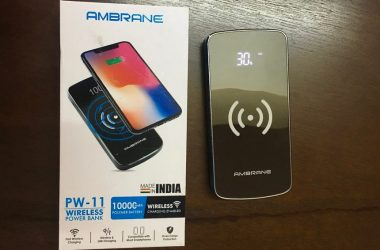 Ambrane PW-11 Wireless Power Bank Review (10000 mAh)