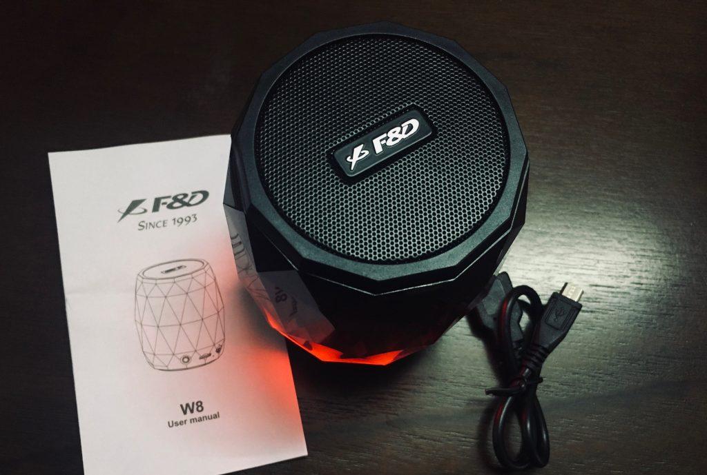 FD W8 RGB Speakers Bluetooth