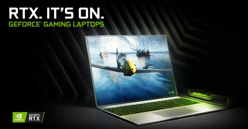 NVIDIAGeForce RTX Powers Record Number of New Gaming Laptops