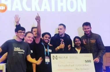 SRM AP Students Win Laurels in Developer Week Hackathon, The world's Largest Challenge Driven Hackathon