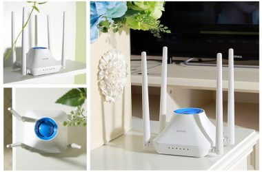 Tenda Introduces Style with Speed in the New 300 Mbps Wi-Fi Router – Tenda F6