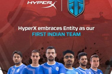 HyperX Announces Entity Gaming as its First Sponsored Esports Team in India