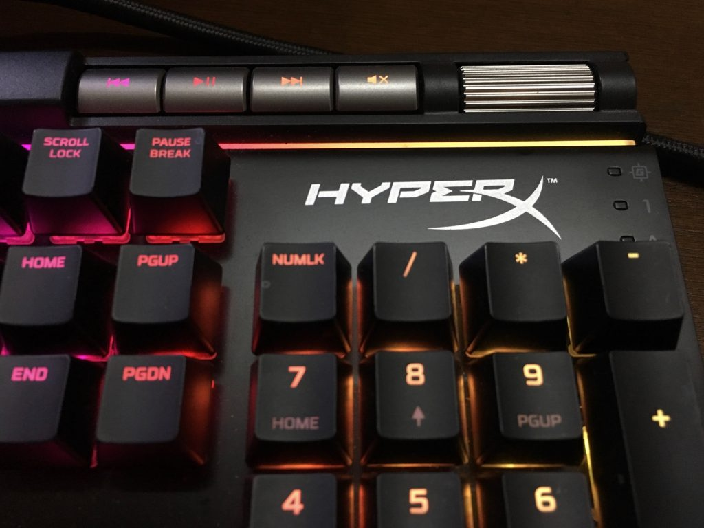 HyperX Elite Top Left