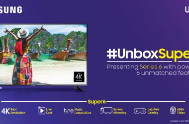 Samsung Launches Online Exclusive UHD TV Line-up with Super6 features