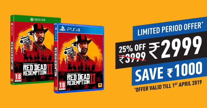 Red Dead Redemption 2 Goes on Discount for Limited Time