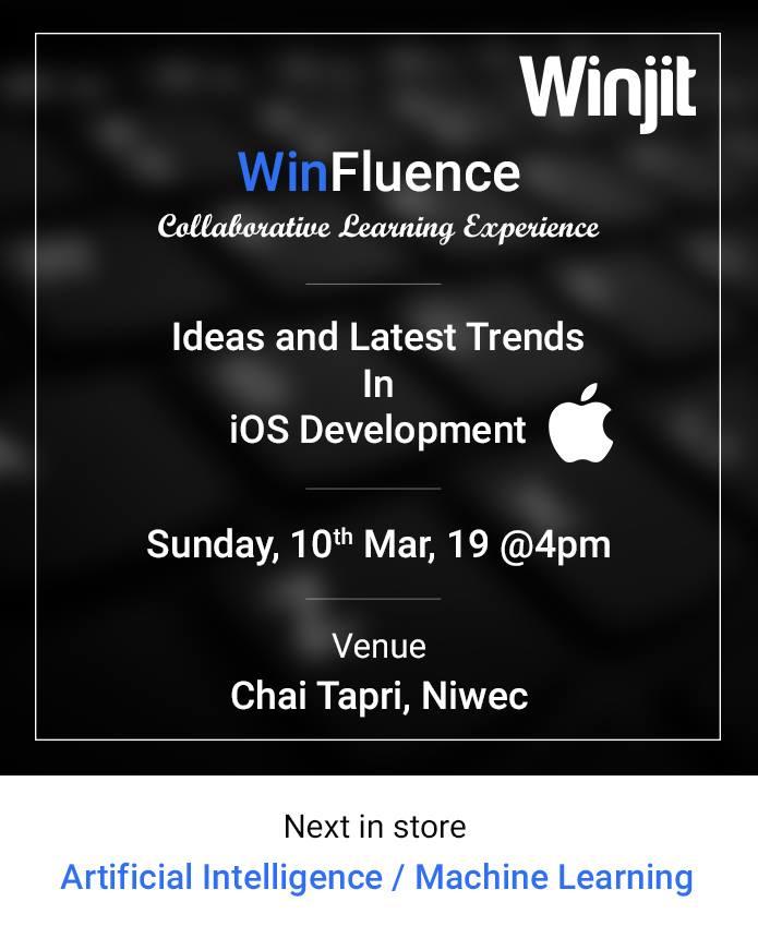 Winfluence iOS Meetup by WinJit