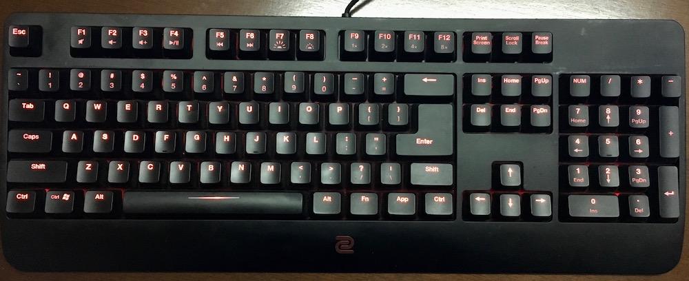 Zowie Celeritas II Keyboard Gaming