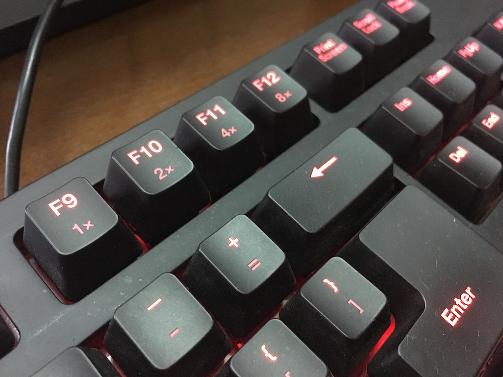 Zowie Celeritas II Keyboard RTR Keys