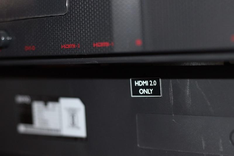 Zowie XL2546 240Hz Monitor Ports Display