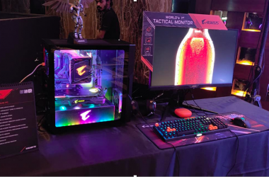 GIGABYTE Unveils AORUS Extreme Gaming PC and Monitor in Mumbai