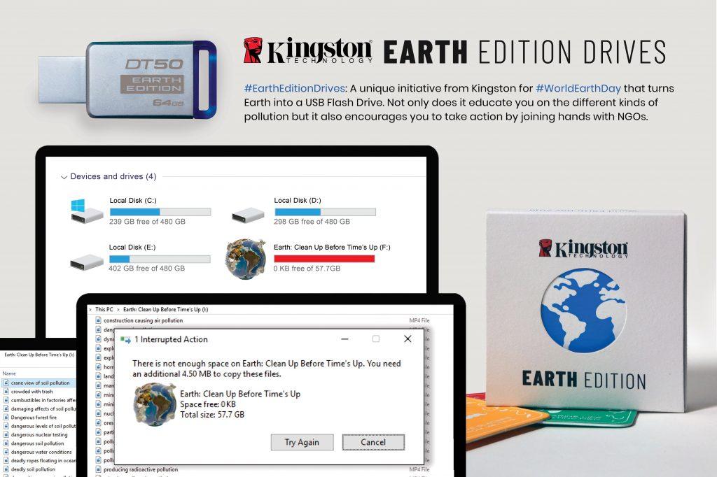 Kingston Earth edition USB All Media