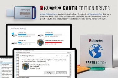Kingston Joins InDeed For Earth Edition Awareness Campaign on World Earth Day