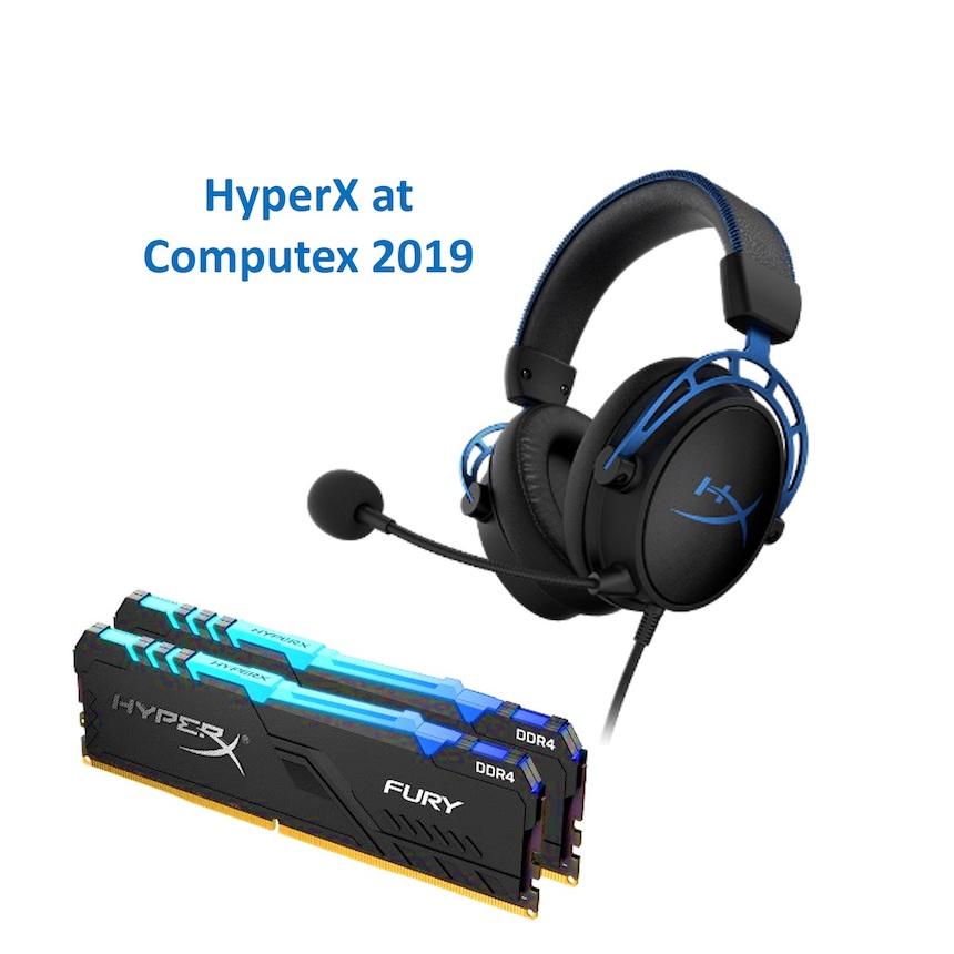 HyperX Expands Gaming Peripheral Line Up at Computex 2019 29 May 2019