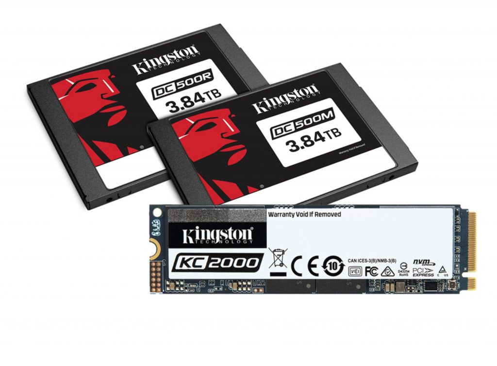 Kingston Announcements for Computex 2019 Kignston SSD family