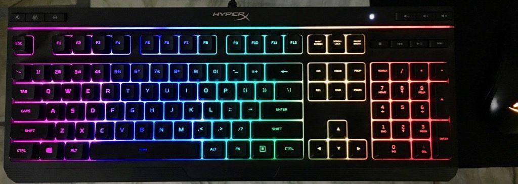 hyperx alloy core rgb gaming keybaord 1 1