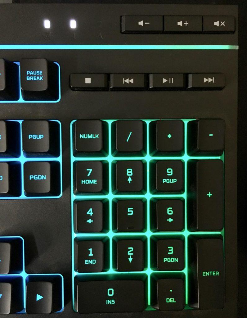 hyperx alloy core rgb gaming keybaord 2 1