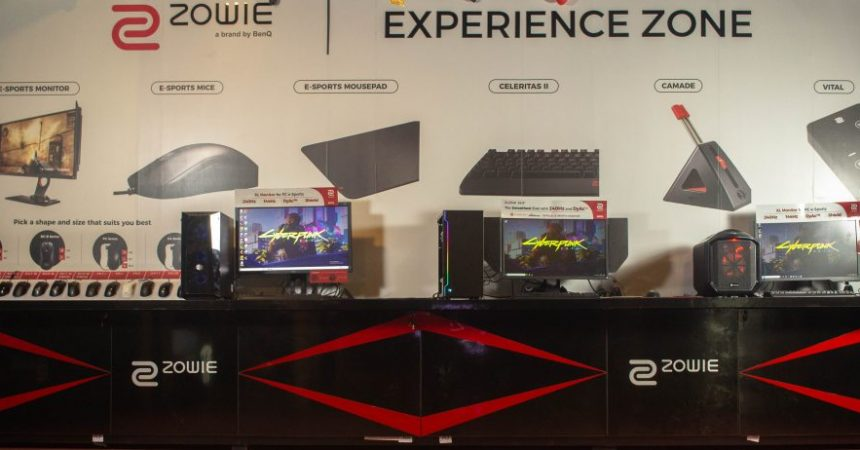 BenQ Inaugurates India's Second ZOWIE Experience Zone in Hyderabad