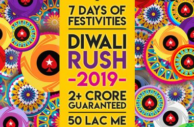 Gear-up to Experience the Poker Rush at PokerStars.IN this Diwali