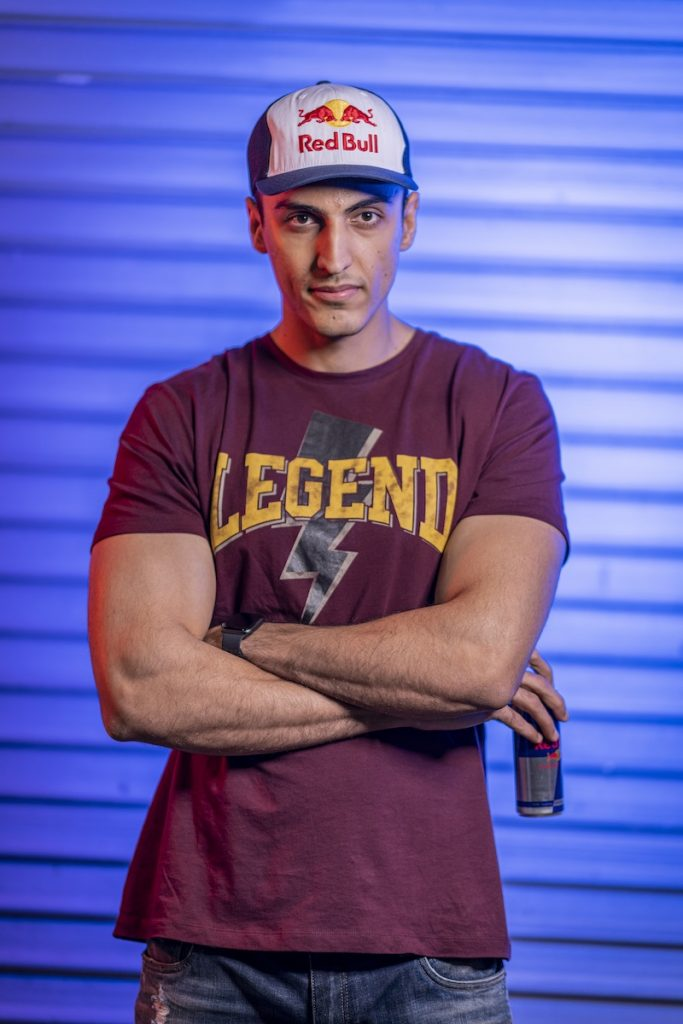 "Ankit ""V3nom"" Panth Red Bull India Gaming Athlete"