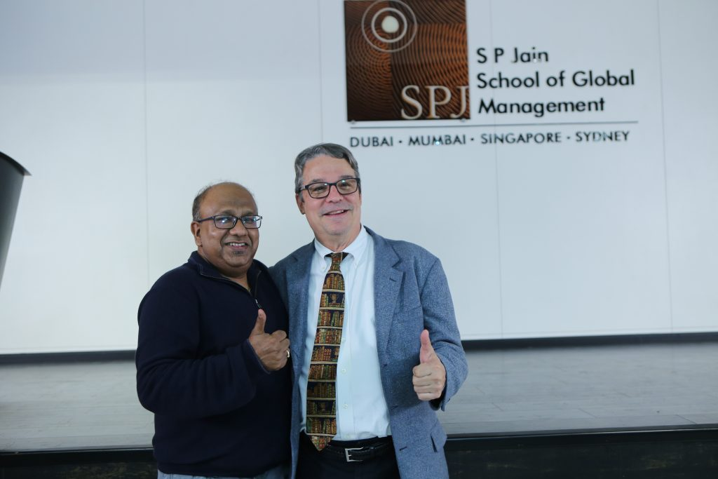 Prof Abhijit Dasgupta Director BDVA and BDS and Prof. Lawrence Pohlman