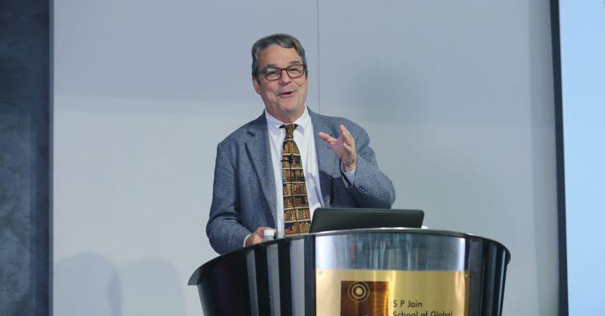 S P Jain School of Global Management Hosts an Enlightening Workshop by Professor Lawrence Pohlman