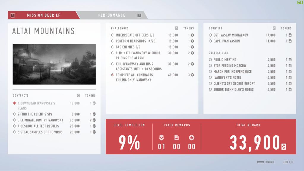 Sniper Ghost Warrior ContractsGUI