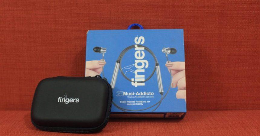 Fingers 2B Musi-Addicto Review: Wireless Neckband Earphones