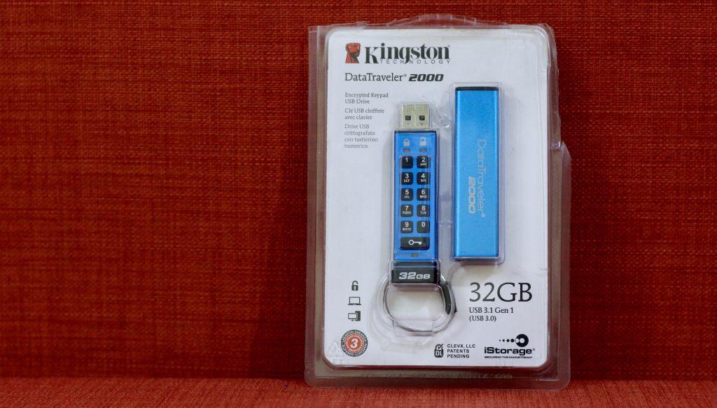 Kingston DT2000 Encrypted FlashDrive 1 3