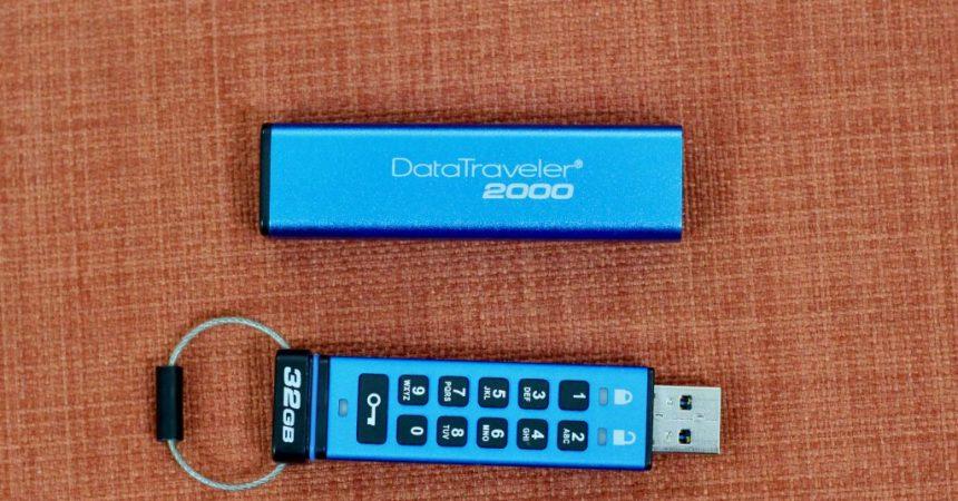 Kingston DataTraveler 2000 Review: Encrypted Keypad USB Drive