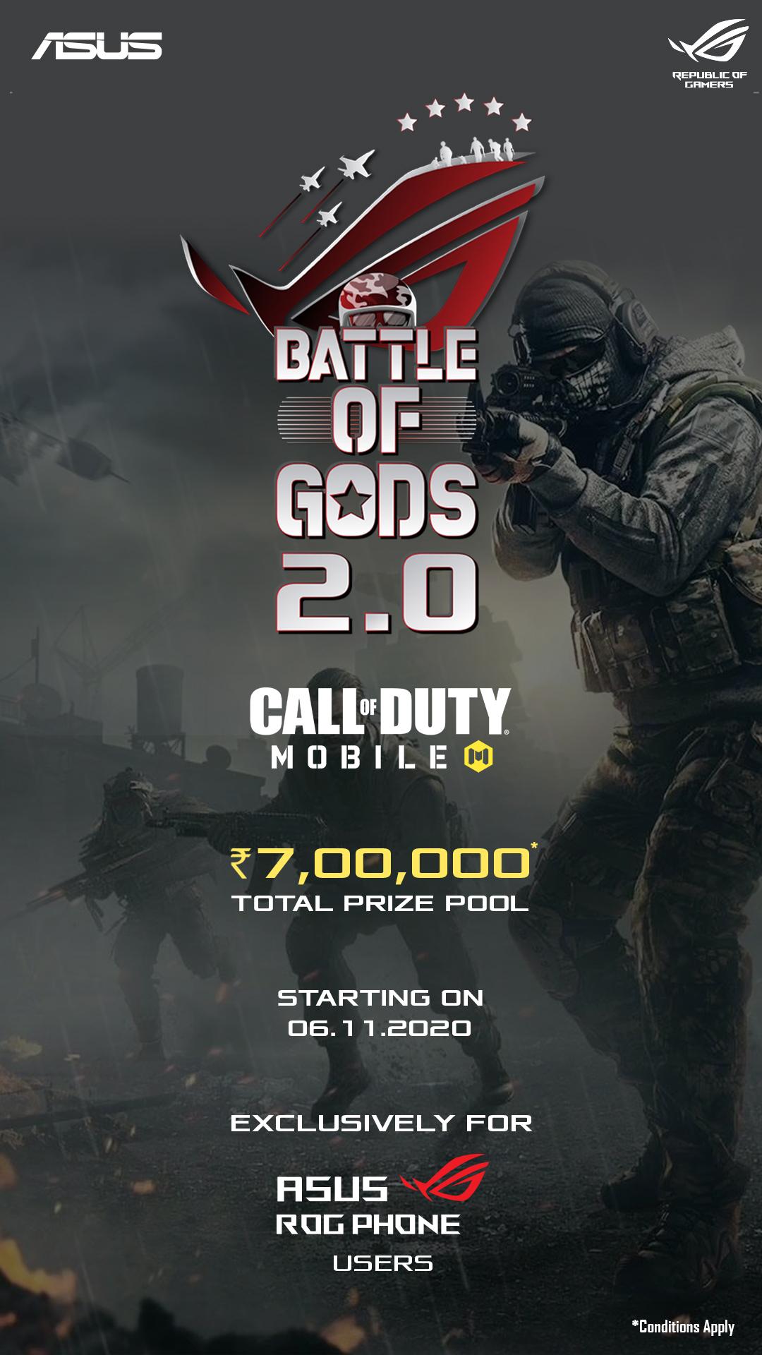 Asus Battle of Gods COD