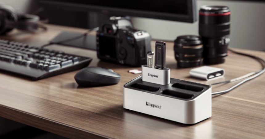 Now Capture, Create and Connect with the new Kingston Workflow Station