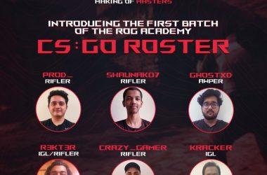 ASUS ROG Academy: Journey begins for 6 Aspiring Gamers