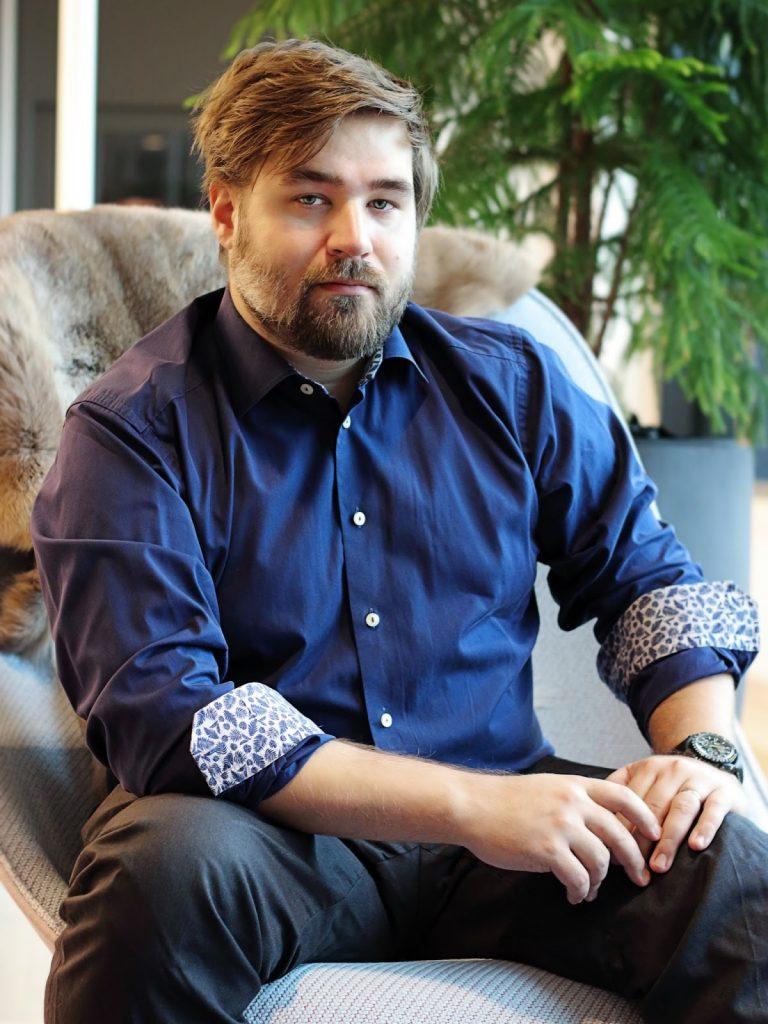 John Pilestedt CEO and founder of Arrowhead