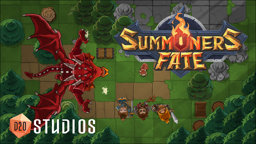 Summoners Fate Wins Qualifier for Nordic Game Discovery