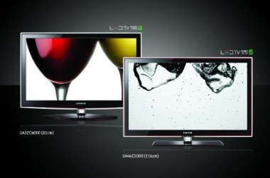 Samsung Adds Up Some New LED TV's In Series