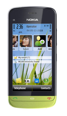 Nokia C5-03 Price in India – 3G, Touchscreen Mobile Price