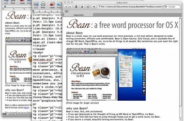 Free Word Processor for Mac OS X – Bean