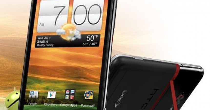 HTC Evo 4G Soon Coming On Sprint Network With  LTE And Android 4.0 ICS