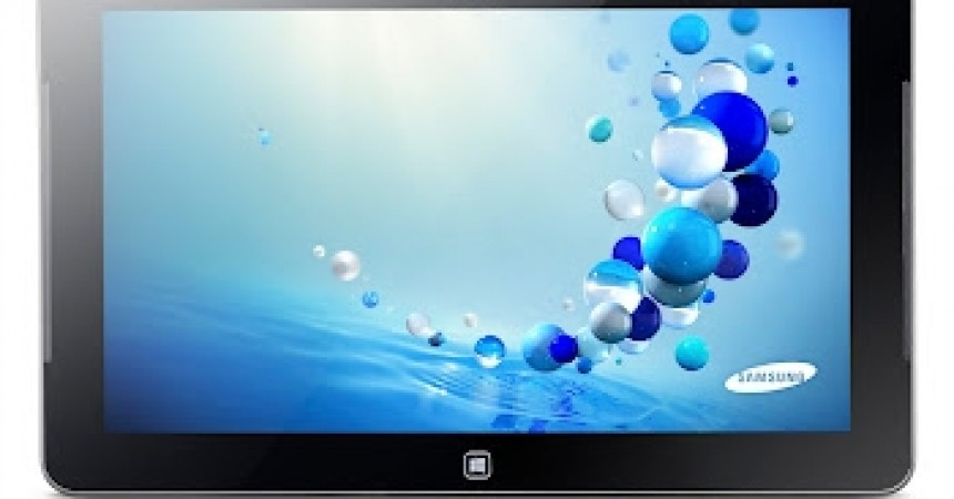Samsung Introduces The ATIV Windows 8 Tablets: The First Windows 8 Tab