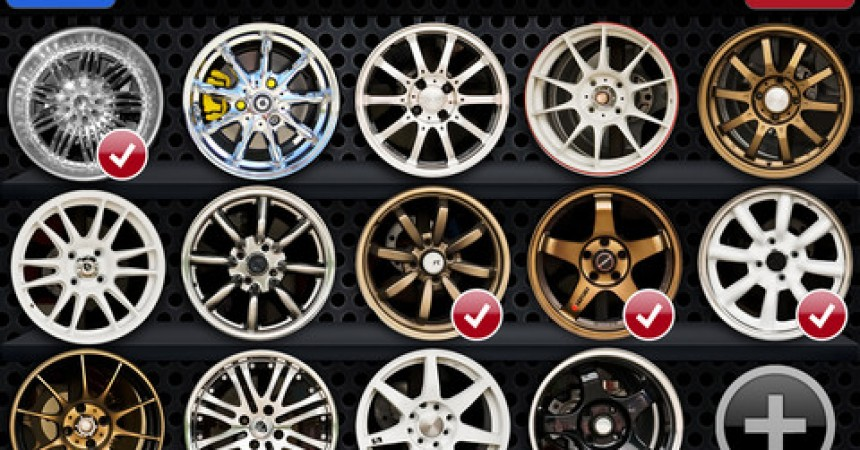 Wheels On iPhone App Review – Custom Wheels For Your Car!