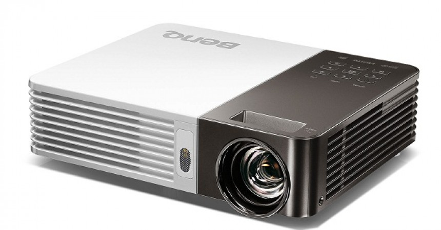 Wireless Big-Screen Ultra Lite LED Projector BenQ GP10 Launched In India!