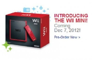 The Wii Mini Is Now Reality Would Arrive On December 7