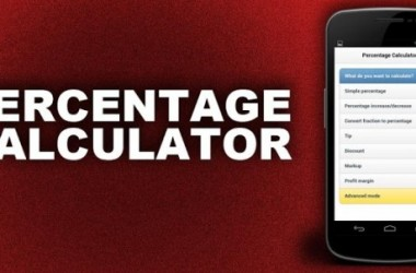 Percentage Calculator Android App Review – Fastest Ever!